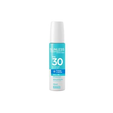 Protetor Solar Labial 30 Fps Sunless Roll-On 15ml
