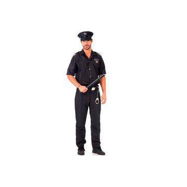 Fantasia De Policial Masculino Adulto Luxo 5761f78ad9a