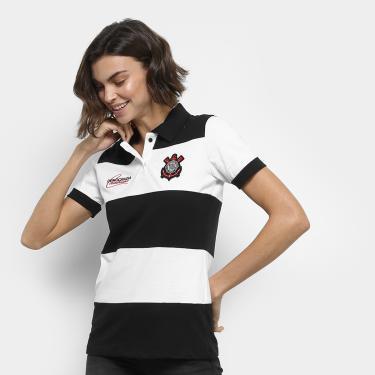 a0f09f094895a Camisa Polo Corinthians Democracia 1982 Feminina - Feminino