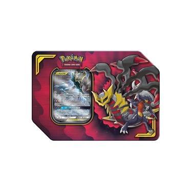 Imagem de Lata Pokémon Lucario&Melmetal Gx + Fichário Pokémon porta Cards Pikachu e Turma