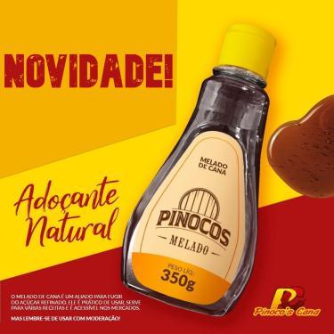 Kit 5 Melados de Cana PINOCO'S Artesanal 100% Natural 350g.