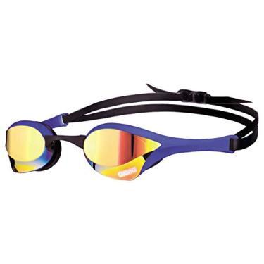 Arena Oculos Cobra Ultra Mirror Lente Espelhada Amarela, Azul