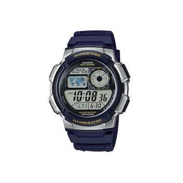 e052204e311 Relógio Masculino Casio Esportivo Hora Mundial AE-1000W-2AVDF