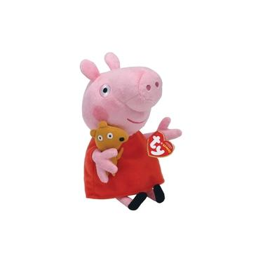 Imagem de Peppa Pig Pelúcia Peppa Pig Papai George Mamãe Princesa TY Dtc