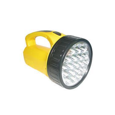 Imagem de Lanterna Holofote Com 19 Super Leds Dp1706 Bivolt Recarregável