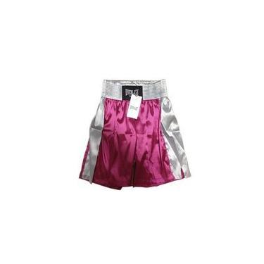 Bermuda De Boxe Pink Com Prata Ef10107a Everlast