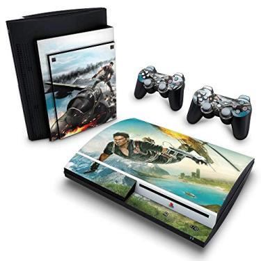 Skin Adesivo para PS3 Fat - Just Cause 2