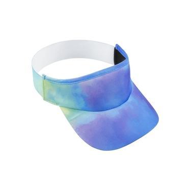 Viseira para Corrida HUPI Tie-Dye Roxo/Azul