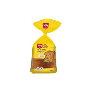 Pão de Forma Multigrãos Sem Glúten 200g -Dr Schar