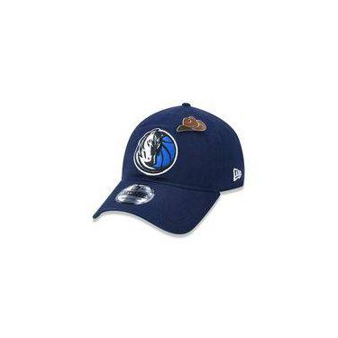 Bone 920 Dallas Mavericks Nba Aba Curva Strapback Marinho New Era 439b64bc9be