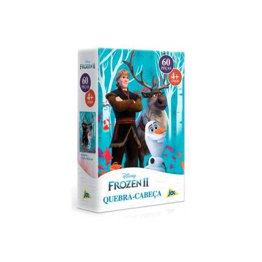 Imagem de Quebra-Cabeça Frozen 2 Kristoff e Sven 60 Peças - Toyster