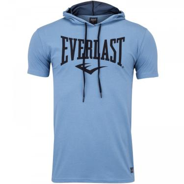 Camiseta com Capuz Everlast Básica II - Masculina Everlast Masculino