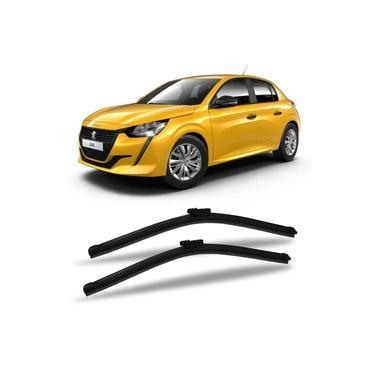 Limpador de Parabrisas Peugeot 208 2019 a 2020 Dyna Slim Blade Palheta Chuva Dianteira Par
