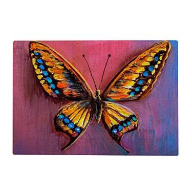 Imagem de Top Carpenter Quebra-cabeças de madeira 300/500/1000 peças de pintura a óleo de borboleta, jogos educativos de quebra-cabeça intelectual para adultos e crianças
