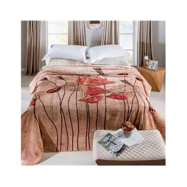 Cobertor Jolitex Raschel King Graciosas