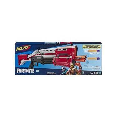 Lançador De Dardos Nerf Mega Fortnite Ts Reskin Hasbro E7065