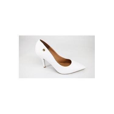 Sapato Scarpin Vizzano Salto Alto Branco