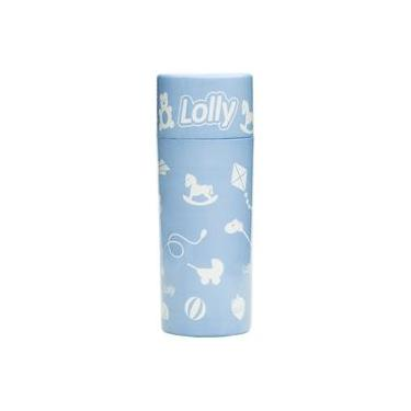 Porta Mamadeira Color Lolly Azul