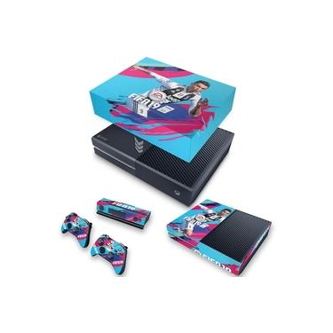 Capa Anti Poeira e Skin para Xbox One Fat - Fifa 19