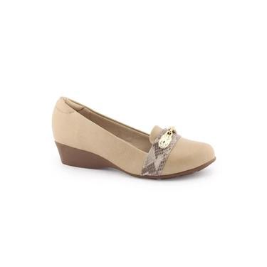 Sapato Feminino anabela baixo 7014-251 - Modare