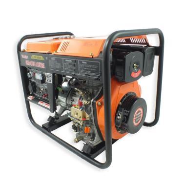 Gerador a Diesel Vulcan VGE3600D 269CC 7HP 3600W Bivolt c/ Partida Eletrica