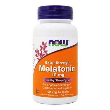 Melatonina 10mg - Extra Forte - Now Foods Now Foods