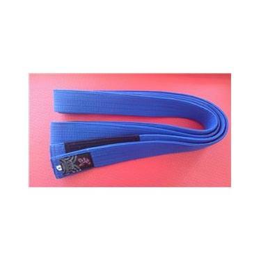 Faixa Standard Yama Azul com Ponta Preta