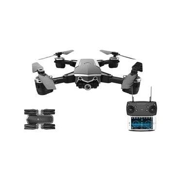 Drone Eagle FPV Câmera HD 1280P Alcance de 80M Flips 360° Controle Remoto Preto Multilaser ES256