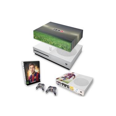 Capa Anti Poeira e Skin para Xbox One S Slim - Fifa 15