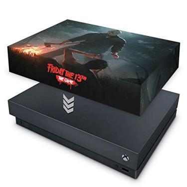 Capa Anti Poeira para Xbox One X - Friday The 13Th The Game - Sexta-Feira 13