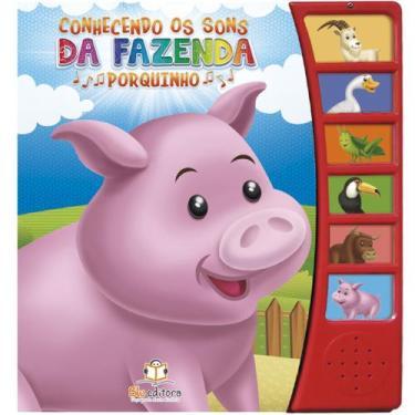 Imagem de Conhecendo Os Sons Da Fazenda - Porquinho - Blu Editora - Dwinguler