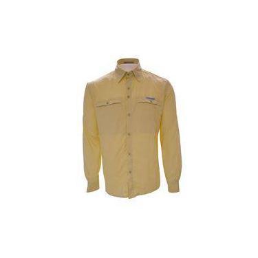 Camisa Masculina Trek Fish Gelo - P