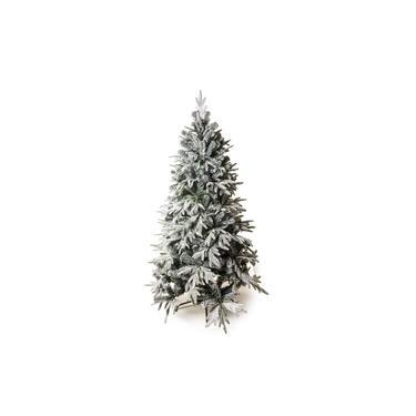 Árvore De Natal Rosário Nevada Pé Ferro 210Cm 1041 Hastes