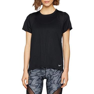 Camiseta Nike Run Top Feminina - Preto