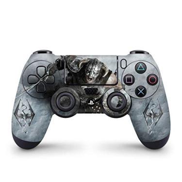 Skin Adesivo para PS4 Controle - Skyrim