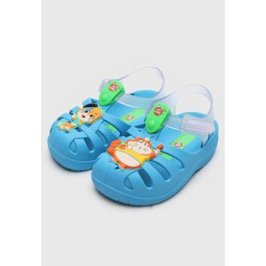 Sandália Grendene Kids Infantil Gatos Azul Grendene Kids 22545 menino