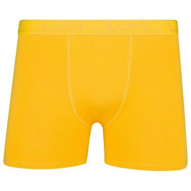 Imagem de Cueca Lupo AM Boxer,Lupo,Masculino Amarelo Ouro G