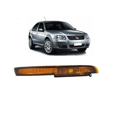 Lanterna Pisca do Parachoque Dianteiro Ambar Volkswagen Bora 2007 até 2011