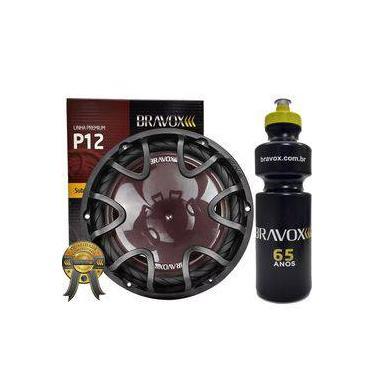 """Alto-falante P12x-d4 Subwoofer 12"""" 220w Rms Bravox + Presente"""