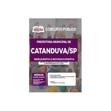 Imagem de Apostila Prefeitura Catanduva SP Berçarista e Recreacionista