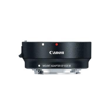 Adaptador De Lente Canon Ef/ef-s Para Câmeras Canon Eos M