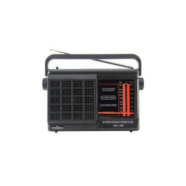 Rádio Portátil Motobrás 2FXS AM FM RMPFT21AC22AC -
