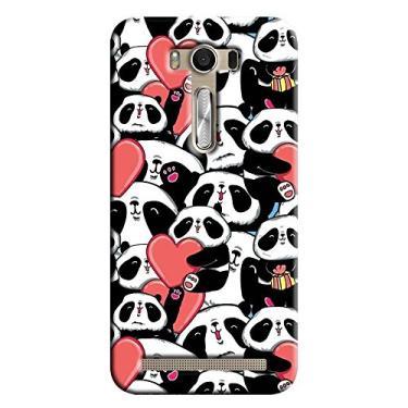 Capa Personalizada para Asus Zenfone 2 Laser 6.0 ZE601KL Love Panda - LV21