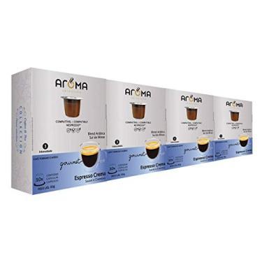 100 Cápsulas Para Nespresso - Café Crema - Cápsula Aroma