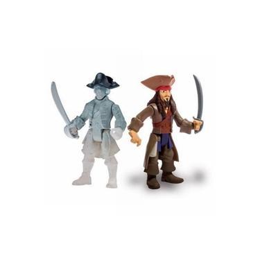 Imagem de Figura Articulada Piratas Do Caribe - Jack Sparrow E Ghost Crewman - Sunny