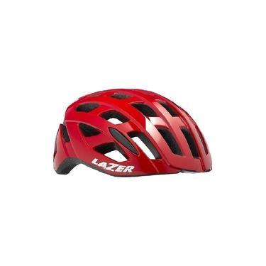Capacete Ciclismo Speed Lazer Tonic Vermelho Lzb-10 Tam G