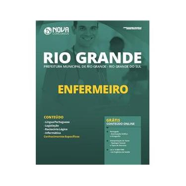 Imagem de Apostila Prefeitura Rio Grande RS - Enfermeiro
