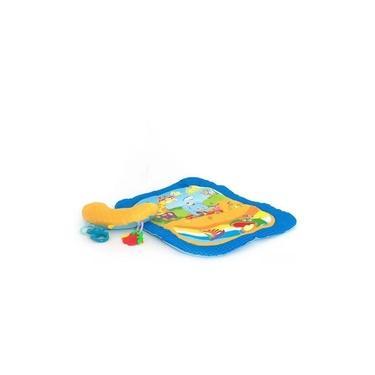 Imagem de Tapete Almofada Azul Bebes Meninos Brincar Conforto Dican