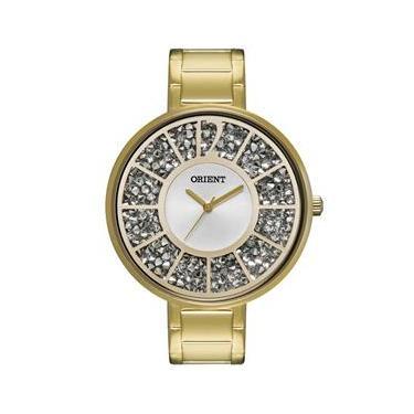 2433c8682bb Relógio Feminino Analógico Orient Casual FGSS0033 S2KX - Dourado