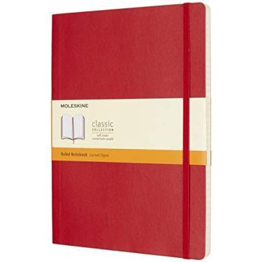 Caderno, Moleskine, 8055002854672, Vermelho, Extra Grande